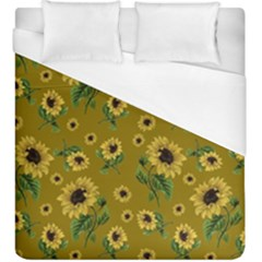 Sunflowers Pattern Duvet Cover (king Size)