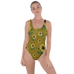 Sunflowers Pattern Bring Sexy Back Swimsuit