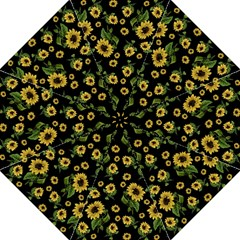 Sunflowers Pattern Hook Handle Umbrellas (medium)