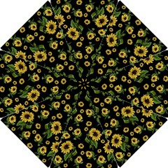 Sunflowers Pattern Hook Handle Umbrellas (small)