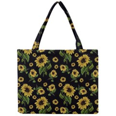 Sunflowers Pattern Mini Tote Bag