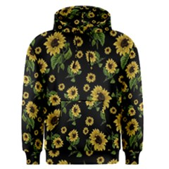 Sunflowers Pattern Men s Pullover Hoodie