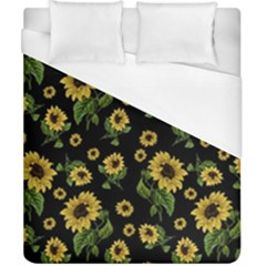 Sunflowers Pattern Duvet Cover (california King Size)