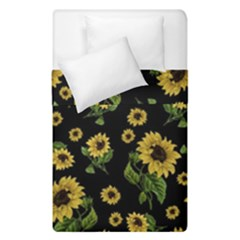 Sunflowers Pattern Duvet Cover Double Side (single Size)