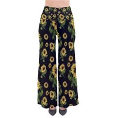 Sunflowers Pattern Pants