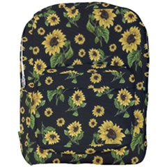 Sunflowers Pattern Full Print Backpack