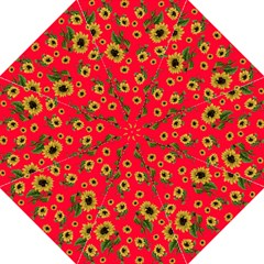 Sunflowers Pattern Hook Handle Umbrellas (large)
