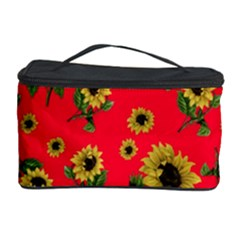 Sunflowers Pattern Cosmetic Storage Case