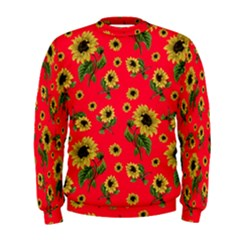 Sunflowers Pattern Men s Sweatshirt