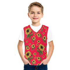 Sunflowers Pattern Kids  Sportswear