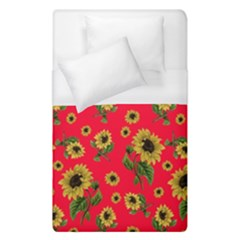 Sunflowers Pattern Duvet Cover (single Size)