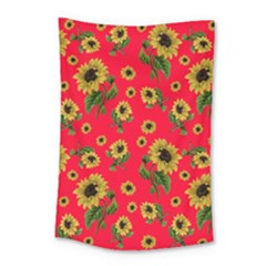 Sunflowers Pattern Small Tapestry