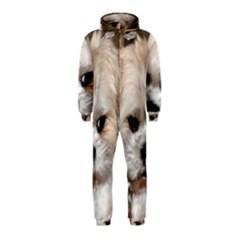 Lhasa Apso Groomed Hooded Jumpsuit (kids)