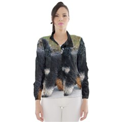 2 Poodles Full Wind Breaker (women)