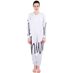 Chow Chow Mashup Onepiece Jumpsuit (ladies)