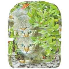 Hidden Domestic Cat With Alert Expression Full Print Backpack
