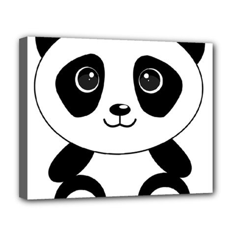 Bear Panda Bear Panda Animals Deluxe Canvas 20  X 16