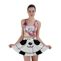 Bear Panda Bear Panda Animals Mini Skirt
