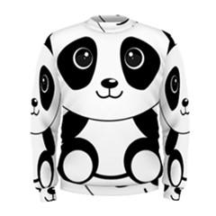 Bear Panda Bear Panda Animals Men s Sweatshirt