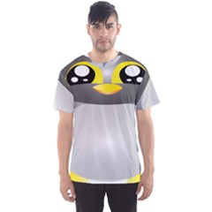 Cute Penguin Animal Men s Sports Mesh Tee