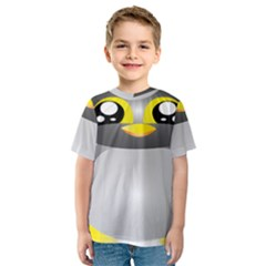 Cute Penguin Animal Kids  Sport Mesh Tee