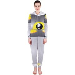 Cute Penguin Animal Hooded Jumpsuit (ladies)