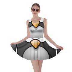 Penguin Birds Aquatic Flightless Skater Dress