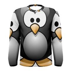 Penguin Birds Aquatic Flightless Men s Long Sleeve Tee
