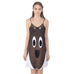 Dog Pup Animal Canine Brown Pet Camis Nightgown