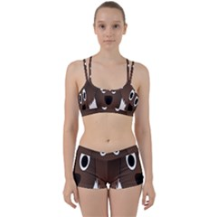 Dog Pup Animal Canine Brown Pet Women s Sports Set