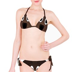 Dog Pup Animal Canine Brown Pet Bikini Set
