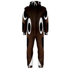Dog Pup Animal Canine Brown Pet Hooded Jumpsuit (men)