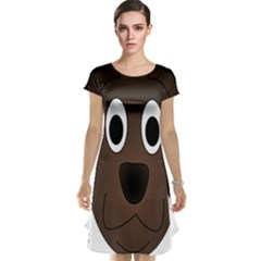 Dog Pup Animal Canine Brown Pet Cap Sleeve Nightdress