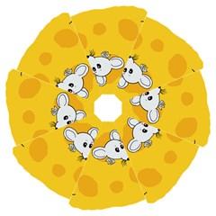 Rat Mouse Cheese Animal Mammal Folding Umbrellas
