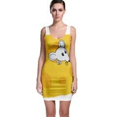 Rat Mouse Cheese Animal Mammal Bodycon Dress