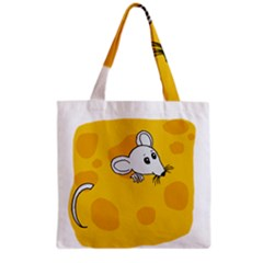 Rat Mouse Cheese Animal Mammal Grocery Tote Bag