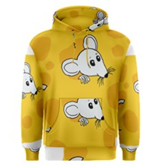 Rat Mouse Cheese Animal Mammal Men s Pullover Hoodie