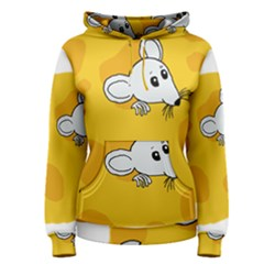Rat Mouse Cheese Animal Mammal Women s Pullover Hoodie