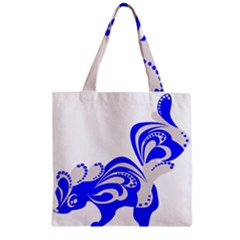 Skunk Animal Still From Zipper Grocery Tote Bag
