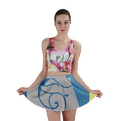 Ram Zodiac Sign Zodiac Moon Star Mini Skirt