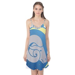 Ram Zodiac Sign Zodiac Moon Star Camis Nightgown
