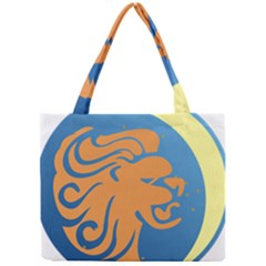 Lion Zodiac Sign Zodiac Moon Star Mini Tote Bag