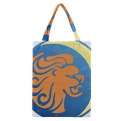 Lion Zodiac Sign Zodiac Moon Star Classic Tote Bag