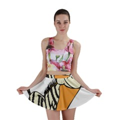 Zebra Animal Alphabet Z Wild Mini Skirt
