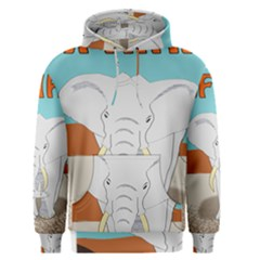 Africa Elephant Animals Animal Men s Pullover Hoodie
