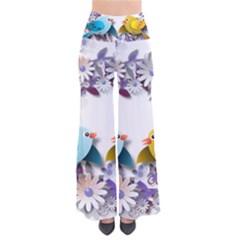 Flowers Floral Flowery Spring Pants
