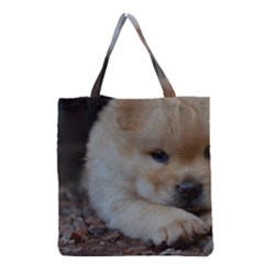 Puppy Chow Chow Grocery Tote Bag
