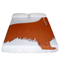 Irish Setter Silo Color Fitted Sheet (california King Size)