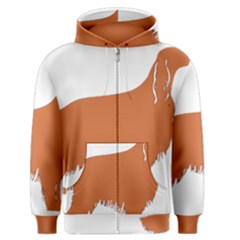 Irish Setter Silo Color Men s Zipper Hoodie