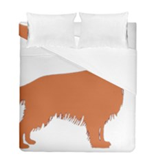 Irish Setter Silo Color Duvet Cover Double Side (full/ Double Size)